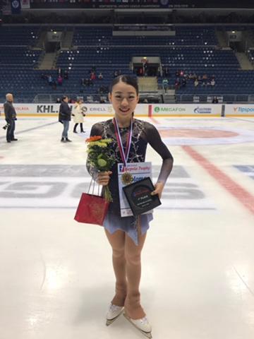紀平梨花さんがオンドレイネペラ杯で優勝
