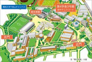 テニスコートmap