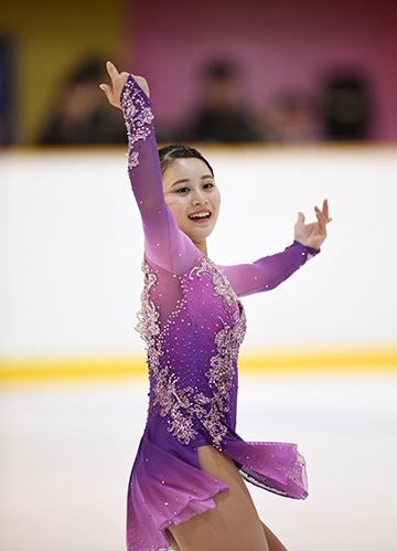 白岩優奈近畿フィギュアスケート選手権2018